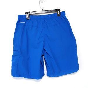 Columbia Swim Shorts blue 9in inseam mens Large